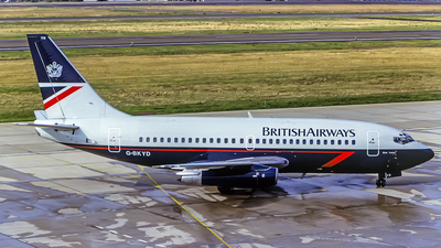 G-BKYD - Boeing 737-236(Adv) - British Airways