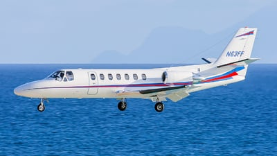 N63FF - Cessna 560 Citation Ultra - Private