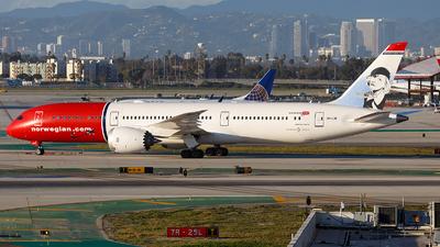 LN-LNI - Boeing 787-9 Dreamliner - Norwegian