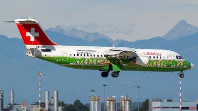 A picture of HBIYS - Avro RJ100 - [E3381] - © Fabio Miotto