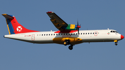 OY-LHB - ATR 72-202 - Danish Air Transport (DAT)