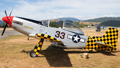 ZK-MLE - Titan T-51 Mustang - Private
