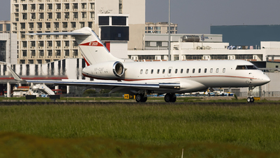 VP-CAF - Bombardier BD-700-1A10 Global 6000 - Private
