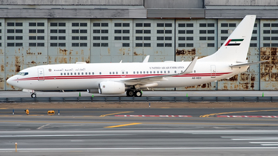 A6-HEH - Boeing 737-8AJ(BBJ2) - United Arab Emirates - Dubai Air Wing
