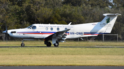 VH-OWA - Pilatus PC-12/47E - Royal Flying Doctor Service of Australia (Western Operations)
