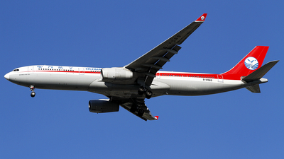 A picture of B8589 - Airbus A330343 - Sichuan Airlines - © wangpaul
