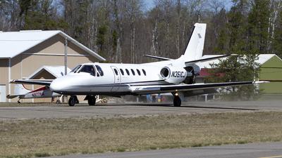 N351CJ - Cessna 550 Citation II - Private
