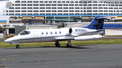N703DJ - Bombardier Learjet 35A - Private