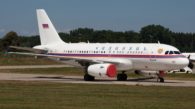 701 - Airbus A319-132(CJ) - Armenia - Government