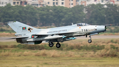 2716 - Chengdu F-7BGI - Bangladesh - Air Force