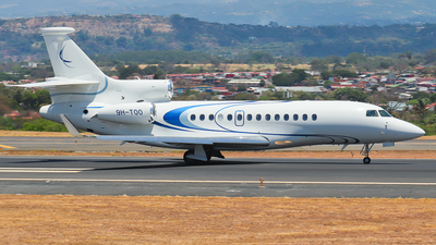 A picture of 9HTOO - Dassault Falcon 7X - [005] - © Kenneth Mora Flores