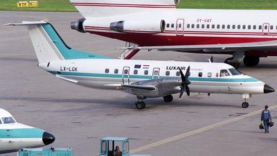 LX-LGK - Embraer EMB-120RT Brasília - Luxair Commuter