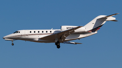 N999QS - Cessna 750 Citation X - NetJets Aviation