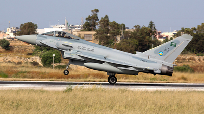 ZK393 - Eurofighter Typhoon EF2000 - Saudi Arabia - Air Force
