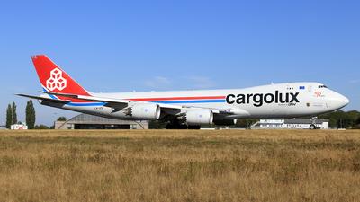 A picture of LXVCH - Boeing 7478R7(F) - Cargolux - © Helmut Schnichels