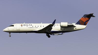 A picture of N819AY - Mitsubishi CRJ200LR - Delta Air Lines - © Maik Voigt
