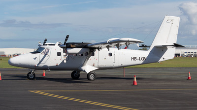 HB-LQV - De Havilland Canada DHC-6-300 Twin Otter - Zimex Aviation