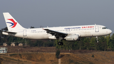 A picture of B6600 - Airbus A320232 - China Eastern Airlines - © baobao723