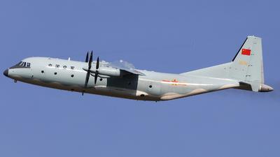 55741 - Shaanxi Y-9 - China - Air Force