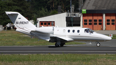 M-RENT - Cessna 525 CitationJet M2 - Sixt Air