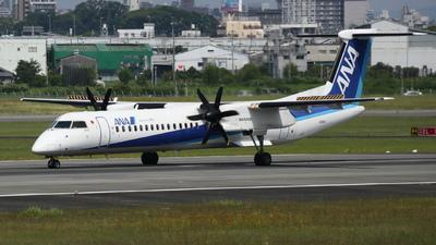 A picture of JA859A - De Havilland Canada Dash 8400 - All Nippon Airways - © Tokubee