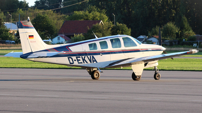 D-EKVA - Beechcraft A36 Bonanza - Private