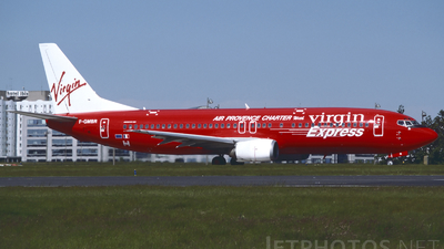 F-GMBR - Boeing 737-4Y0 - Virgin Express (Air Provence Charter)