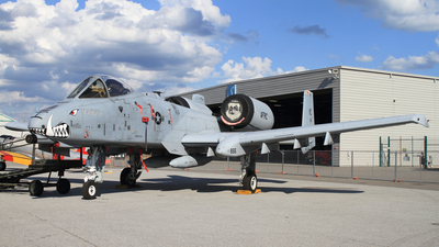 78-0655 - Fairchild A-10A Thunderbolt II - United States - US Air Force (USAF)