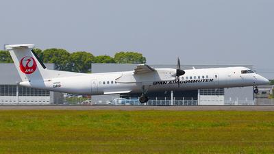 A picture of JA850C - De Havilland Canada Dash 8400 - [4158] - © Shimizu Brothers