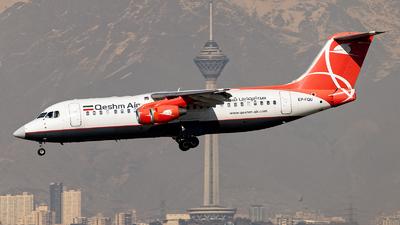 EP-FQU - British Aerospace Avro RJ100 - Qeshm Air