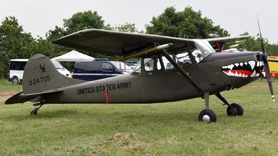 F-AYPF - Cessna O-1E Bird Dog - Private