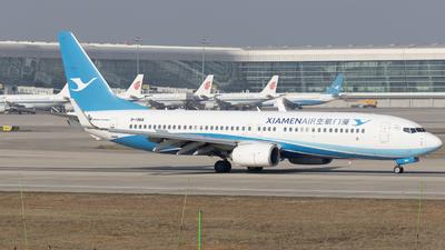 A picture of B1966 - Boeing 73785C - Xiamen Air - © Eric Wang