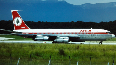 OD-AGB - Boeing 720-023B - Middle East Airlines (MEA)