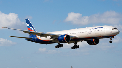 A picture of VQBQE - Boeing 7773M0(ER) - Aeroflot - © Boneyard Safari - Daniel Gonzalez