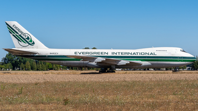 N482EV - Boeing 747-212B(SF) - Evergreen International Airlines