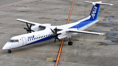 A picture of JA859A - De Havilland Canada Dash 8400 - All Nippon Airways - © 42 dono
