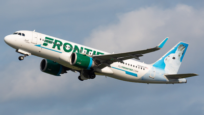 N304FR - Airbus A320-251N - Frontier Airlines
