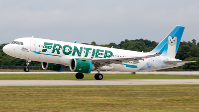 A picture of N339FR - Airbus A320251N - Frontier Airlines - © Ani Thyagarajan