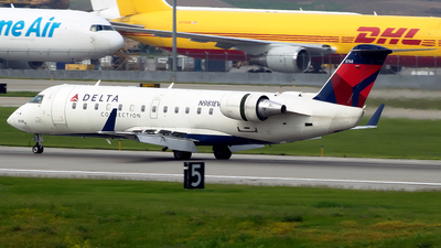 A picture of N981EV - Mitsubishi CRJ200ER - Delta Air Lines - © mariaPGAer