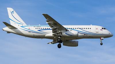 A picture of RA89031 - Sukhoi Superjet 10095LR - Gazpromavia - © Anton  Ryabov