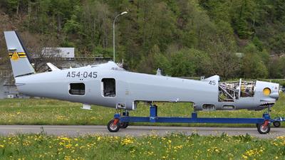 A picture of A54045 - Pilatus PC21 -  - © Fabio Radici
