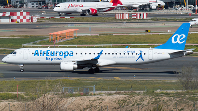 A picture of ECKRJ - Embraer E195LR - Air Europa - © Mateo León