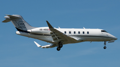 OE-HGG - Bombardier BD-100-1A10 Challenger 350 - Private