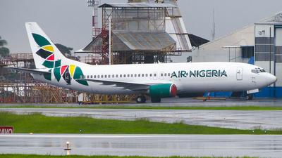 N339LF - Boeing 737-4Q8(SF) - Air Nigeria