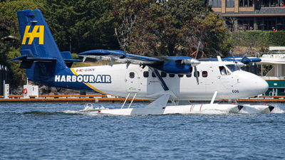 C-GQKN - De Havilland Canada DHC-6-100 Twin Otter - Harbour Air
