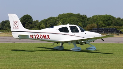 A picture of N120MX - Cirrus SR20 - [2281] - © ian simpson