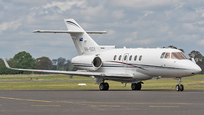 VH-SGY - Raytheon Hawker 850XP - Australia - Queensland Government