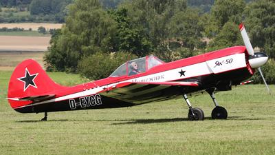 D-EYCG - Yakovlev Yak-50 - Private