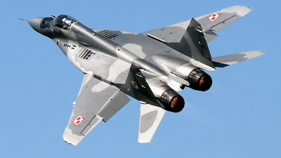 92 - Mikoyan-Gurevich MiG-29A Fulcrum - Poland - Air Force