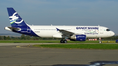 UK32030 - Airbus A320-214 - Qanot Sharq Airlines
